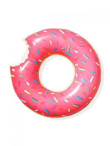 Pink Doughnut Pool Float